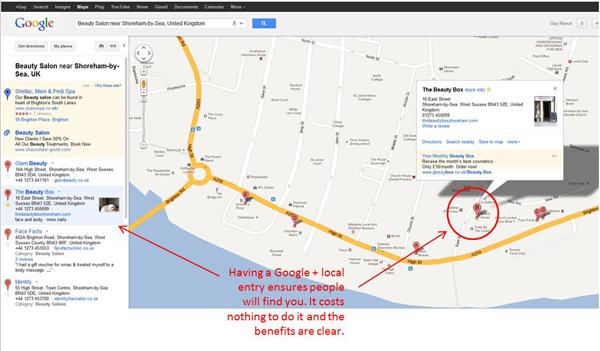 Google + Local-13