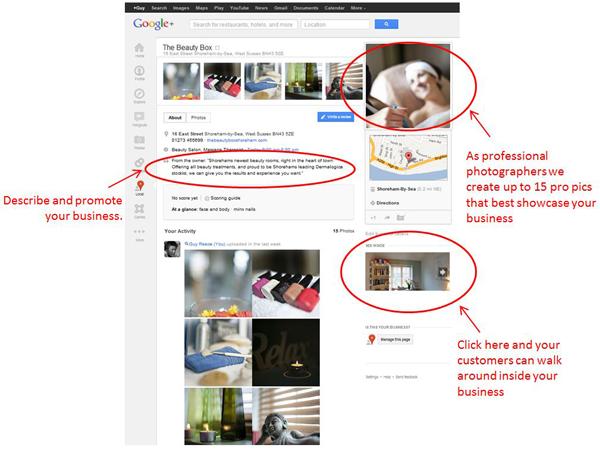 Google + Local-21
